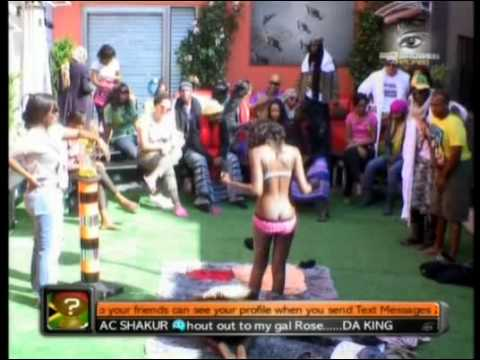 Big Brother Africa Amplified -  Vina Removes Vimbai's Bra. thumbnail