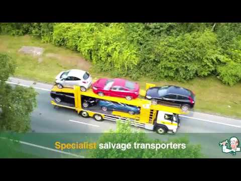 An insight into the salvage and dismantling process by Car Transplants Ltd