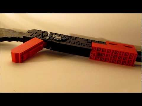 how to make a lego ak 47 gun