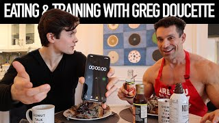 Eating & Training With Greg Doucette | Squat Challenge + HUGE Anabolic French Toast Breakfast