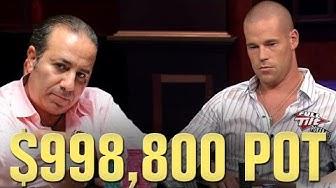 Coin Flip For A MILLION DOLLARS? Big Poker Hand Ft. Sam Farha and Patrik Antonius
