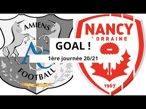 Amiens Nancy Goals And Highlights