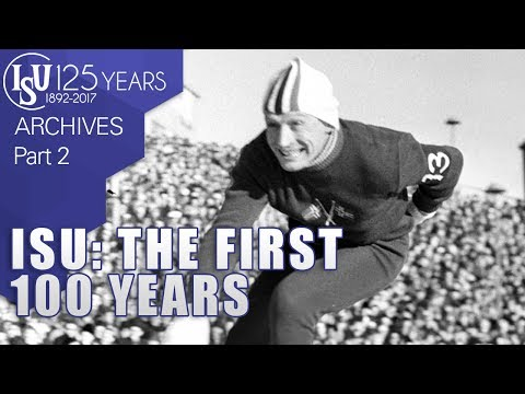 International Skating Union - The first 100 years - Part 2/3 - ISU Archives