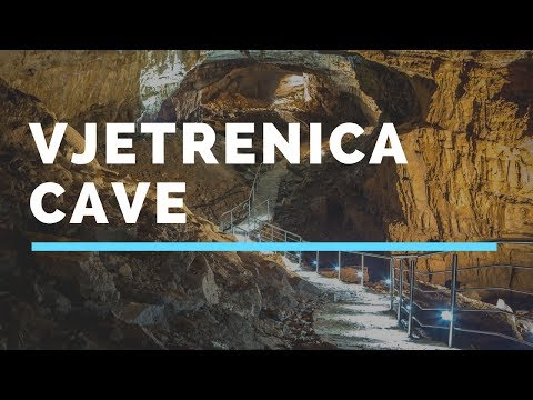 Vjetrenica Cave, the largest cave in Bosnia and Herzegovina