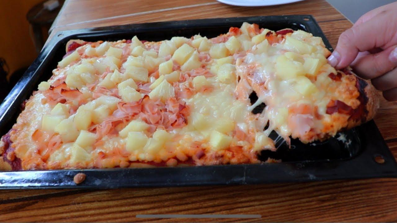 La mejor receta de PIZZA con y SIN HORNO