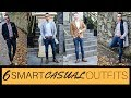 HOW TO Dress Smart Casual | Men's Fashion and Style | 6 Outfits