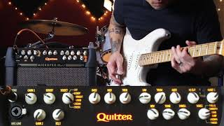 Quilter Mach 2 8 inch - Blues played on Fender Strat