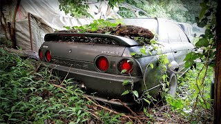 REAL LIFE BARN FIND - Japanese Legendary Cars Edition