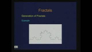 Lec-31 Fractals
