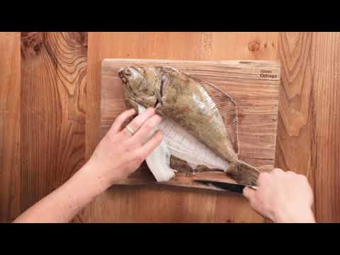 How to fillet plaice