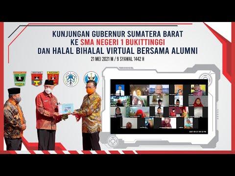 HBH Virtual IASMA Bersama Keluarga Besar SMAN1 Bukittinggi Dalam Rangka KUNJUNGA