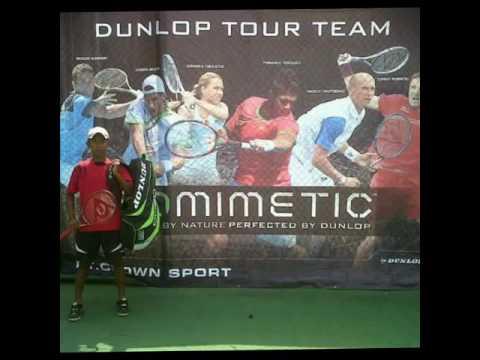 Timnas Indonesia tennis player
