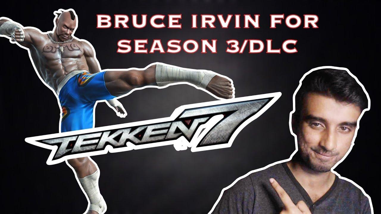Tekken 7 Season 3 Bruce Irvin Myth Busting Youtube