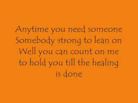 Count On Me  Default Lyrics