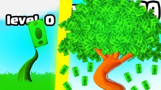 IS THIS THE HIGHEST MOST EXPENSIVE MONEY TREE EVOLUTION? (9999 $ BIGGEST LEVEL)l Money Tree New Game