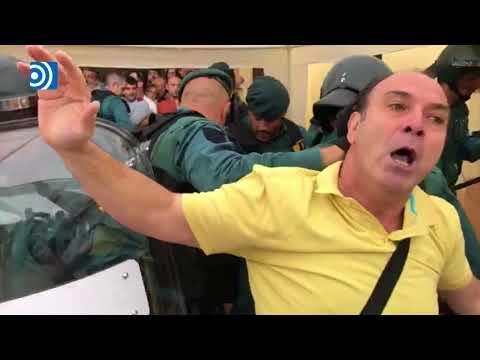 """La """"brutalidad"""" de la Guardia Civil al descubierto"""
