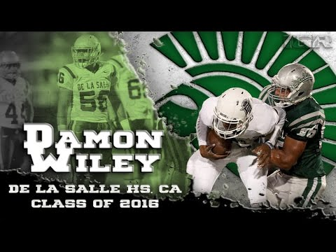 Damon Wiley Junior Season Highlights - De La Salle HS, CA  - IGR Sports