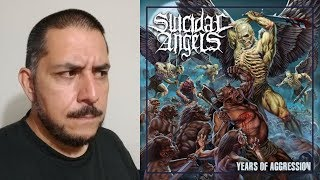 SUICIDAL ANGELS - Years Of Aggression comentario reseña