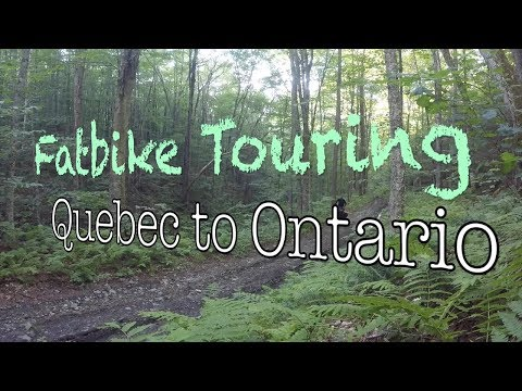 Fatbike Touring - Quebec to Ontario