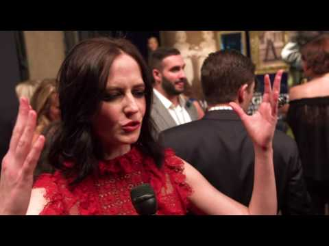 Miss Peregrine's Home for Peculiar Children Premiere Eva Green interview