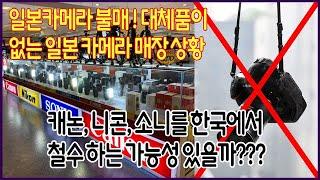 일본 불매운동, 일본카메라 불매 ! 대체품이 없는 일본…