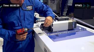 Video HSD  ES951 Electrospindle Fast Shaft Replacement & HST310 Speedy Direct Drive Head download MP3, 3GP, MP4, WEBM, AVI, FLV Desember 2017