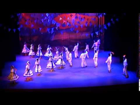 """ La Picota"" Tamaulipas -  Compañia de  Danza Folklorica Bakochi"