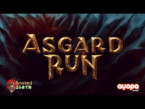 Asgard Run (by Ayopa Games LLC / Amused Sloth) - iOS / Android - HD (Sneak Peek) Gameplay Trailer