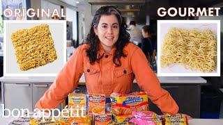 Download Pastry Chef Attempts to Make Gourmet Instant Ramen | Gourmet Makes | Bon Appétit Mp3 and Videos