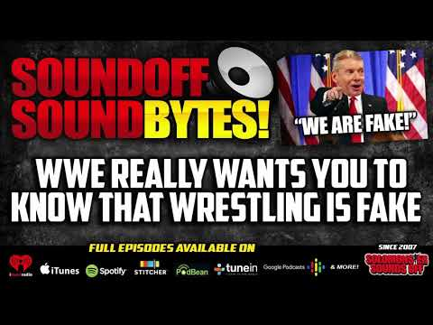 WWE Really Wants You To Know That Wrestling Is FAKE!