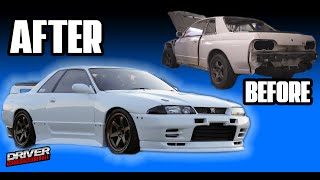 Building an R32 Skyline GTR In 10 MINUTES Ten Minute Build