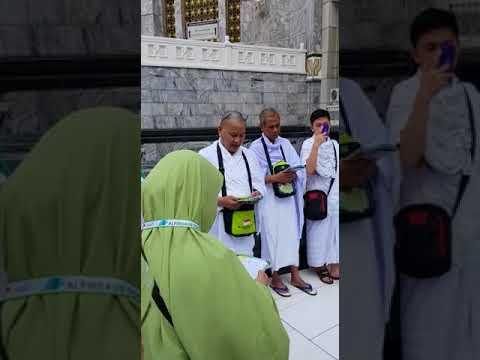 Doa memasuki Masjidil Haram.