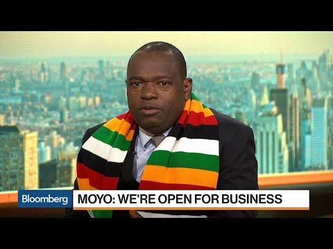 Sibusiso Moyo Says Zimbabwe Is Open for Business