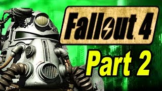 FALLOUT 4 Gameplay | Part 2 | Let