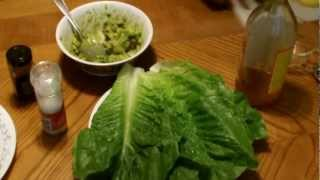 Vegan Lettuce Wrap Recipe Appetizer - 100% Organic