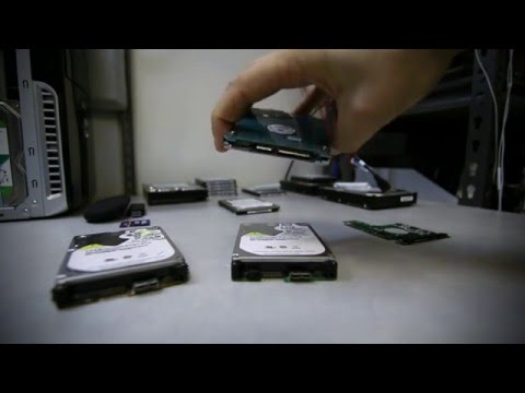 Western digital hard drive problems and data recovery - YouTube