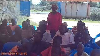 GCD - Child Protection Advocacy in Mtito Andei - 10 Dec 2015