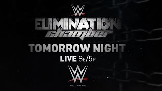 WWE ELIMINATION CHAMBER 2015, TOMORROW LIVE ON WWE NETWORK