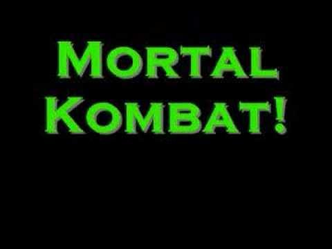 Mortal Kombat Sing-along