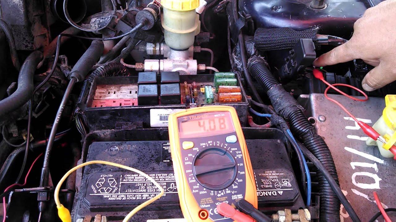 Comprobacion De La Se 241 Al De Os Sensores Ckp Y Cmp Neon