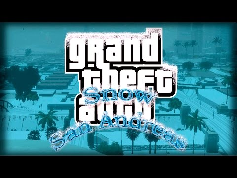 Обзор Больших Модов GTA San Andreas #37 Snow San Andreas!