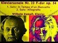 Thumbnail for Beethoven / W. Kempff, 1961: Piano Sonata No. 22 in F major, Op. 54