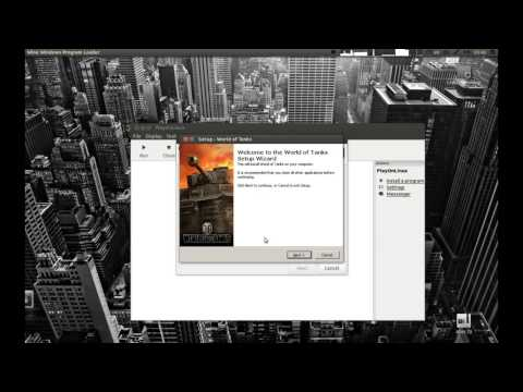 World Of Tanks Linux/Ubuntu Installation