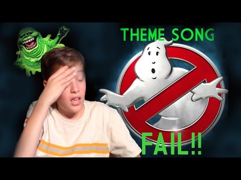 Ghostbusters Theme Song FAIL!!