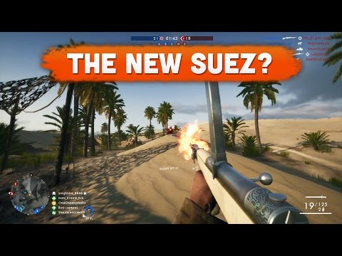 THE NEW SUEZ? - Battlefield 1 | Road to Max Rank #20 (Multiplayer Gameplay)