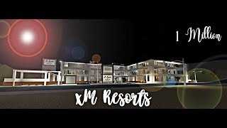 Roblox Bloxburg | A full updated tour of xM Resorts! | 1 Million