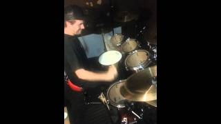 Travis Ryan messing around on the drums