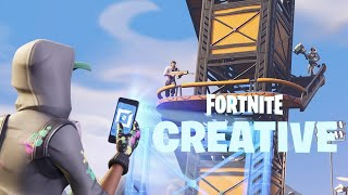 🔴how to get to the real battle island in creative mode on Fortnite-tutorial live #27