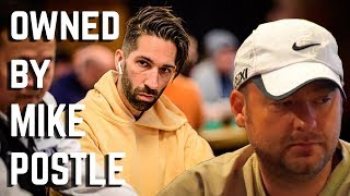 CHEATED by Mike Postle?!?! Played me like a Poker GOD