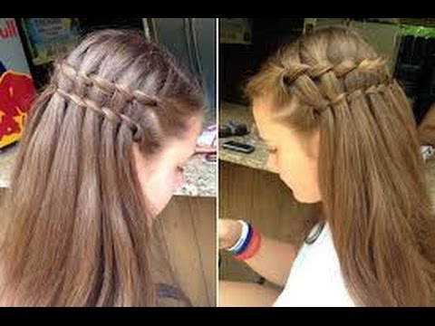 wedding hairstyles for junior bridesmaids - YouTube